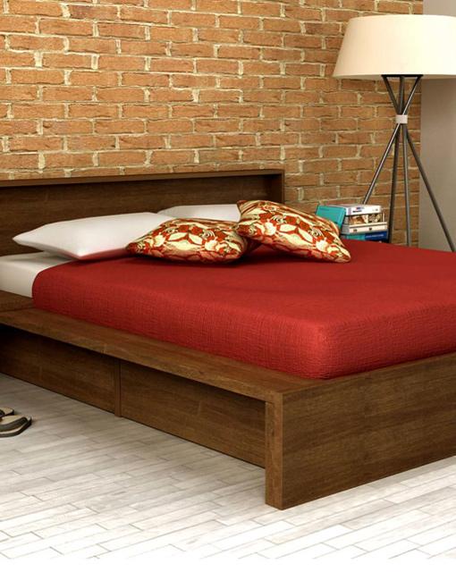 achetez votre cadre de lit avec tiroirs fuku sur myfuton. Black Bedroom Furniture Sets. Home Design Ideas