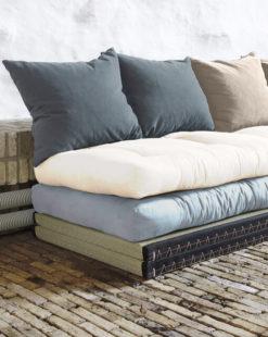 Canapé modulable futon Iko