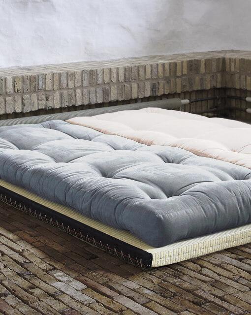 Canapé modulable lit futon Iko