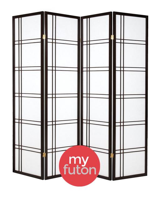 achetez votre paravent 4 panneaux osaka my. Black Bedroom Furniture Sets. Home Design Ideas