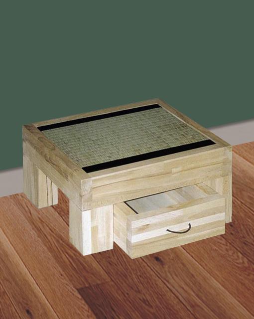 table de chevet tatami Chiba avec tiroir