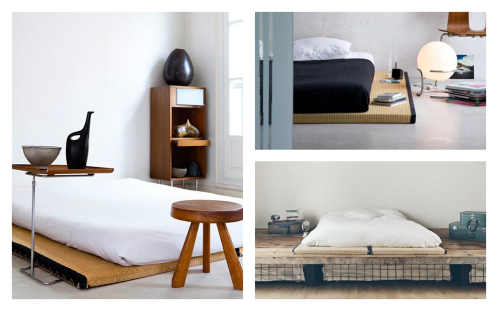 dormir sur un tatami. Black Bedroom Furniture Sets. Home Design Ideas