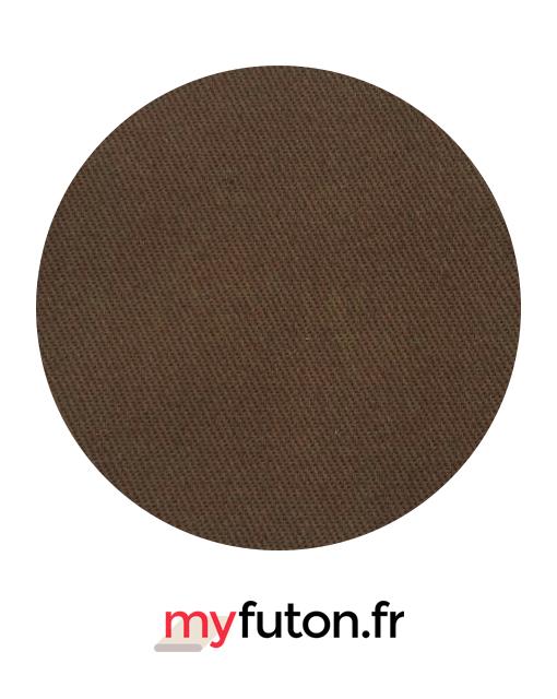 Housse de futon brune
