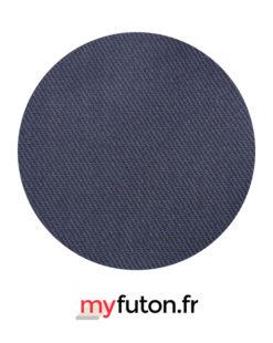 Housse de futon grise