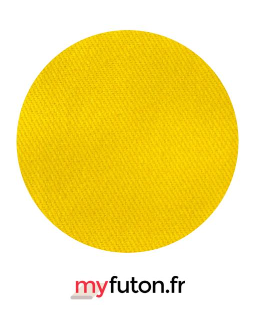 Housse de futon jaune