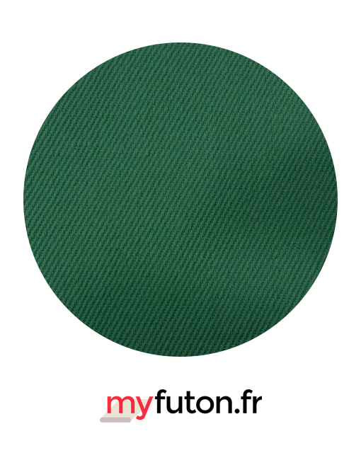 Housse de futon verte