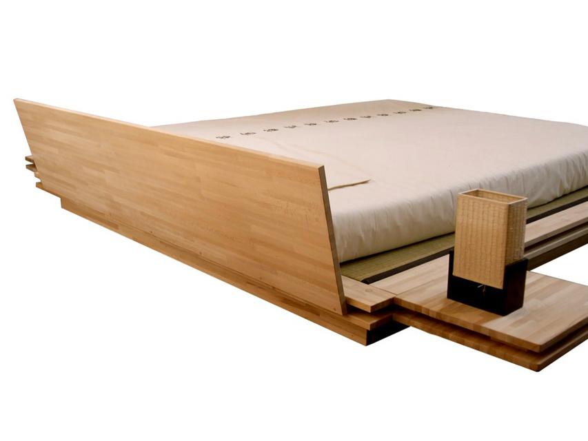 achetez votre cadre de lit rieki sur my myfuton. Black Bedroom Furniture Sets. Home Design Ideas