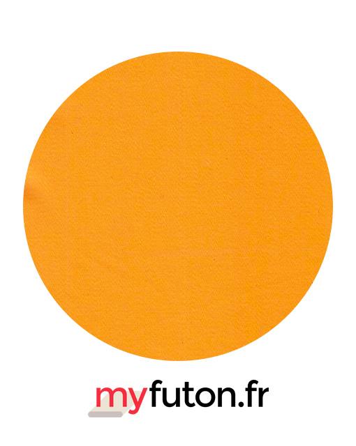 détails housse orange