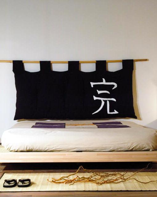 Détails ensemble de lit futon tatamis Meiyo