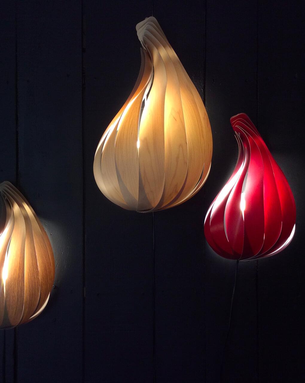 commandez la lampe applique murale twirl par vollum design. Black Bedroom Furniture Sets. Home Design Ideas